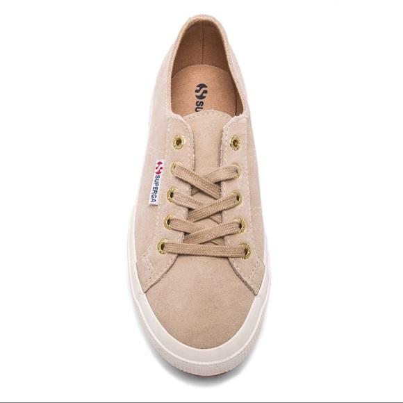 Superga Shoes | Superga 275 Suede Sand